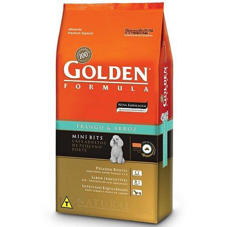 Golden Frango & Arroz Cães Adultos Mini Bits 3kg