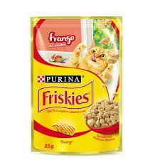 Alimento Úmido Friskies Sache Frango Ao Molho 85g