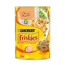 Alimento Úmido Friskies Sache Peru Ao Molho 85g