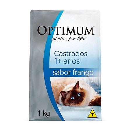 Optimum Gatos Castrados Frango e Arroz 1kg