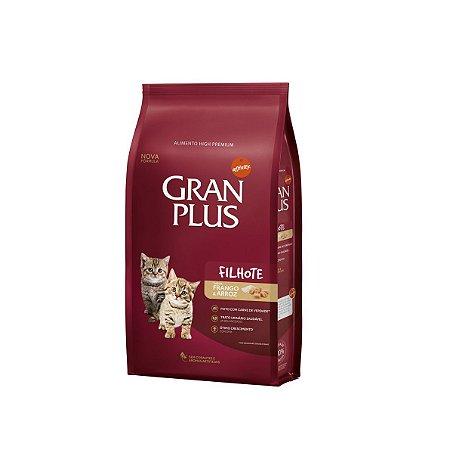Gran Plus Gatos Filhotes - Frango 1kg