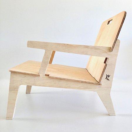 Cadeira Netuno Com Braço