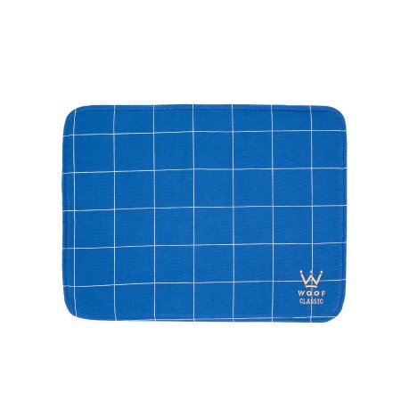 Jogo Americano Woof Classic Lazzy Grid Azul