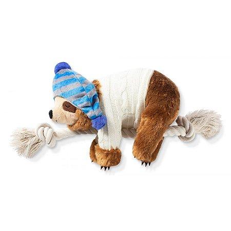 Brinquedo Para Cachorro Pelúcia Preguicinha Bennie