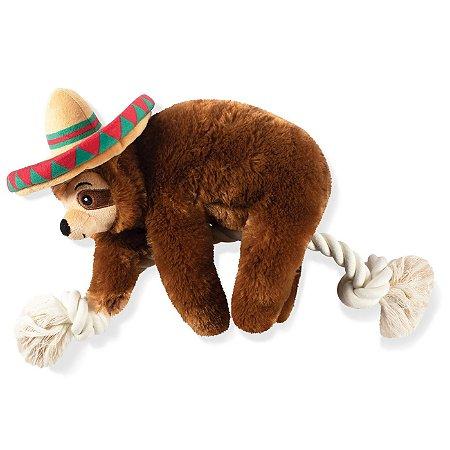 Brinquedo Para Cachorro Pelúcia Preguicinha Mexicano
