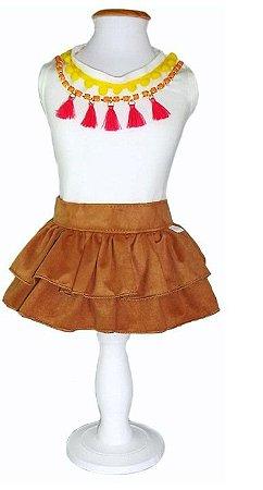 T-shirt + skirt Wayúu