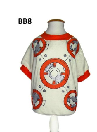 Camiseta para Cachorro Star Wars BB8