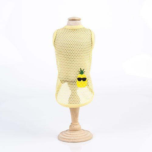 Regata Tela Abacaxi Amarela Água Woof Classic