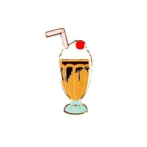 Pin Esmaltado Summer Party - Milk Shake/Chocolate