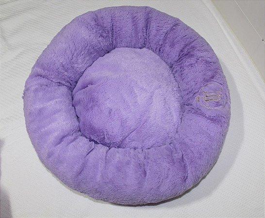 Cama Donuts Roxa Maristela Moda Pet