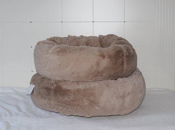 Cama Donuts Taupe Maristela Moda Pet