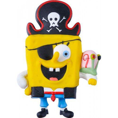 Brinquedo Bob Esponja Pirata em Látex