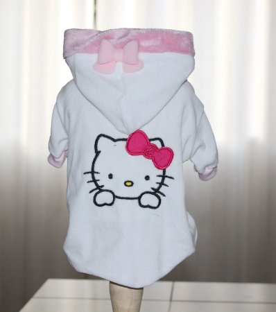 Casaco Plush Hello Kitty branco