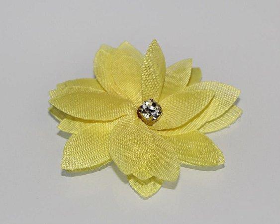 Laço Flor Amarela
