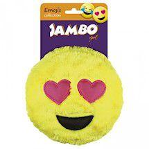 Brinquedo de Pelúcia Smile Emoji Apaixonado Jambo Pet