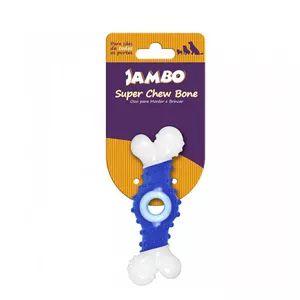 Brinquedo Jambo Osso Super Chew Azul