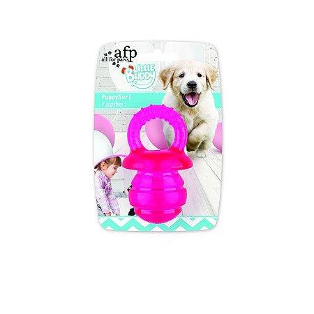 Brinquedo AFP Pups Mordedor Chupeta para Cachorro Pink P