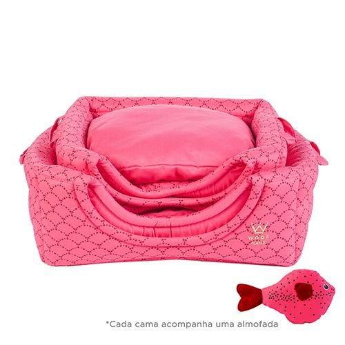 DEEP - Cama Flex M/G - Pink Woof Classic