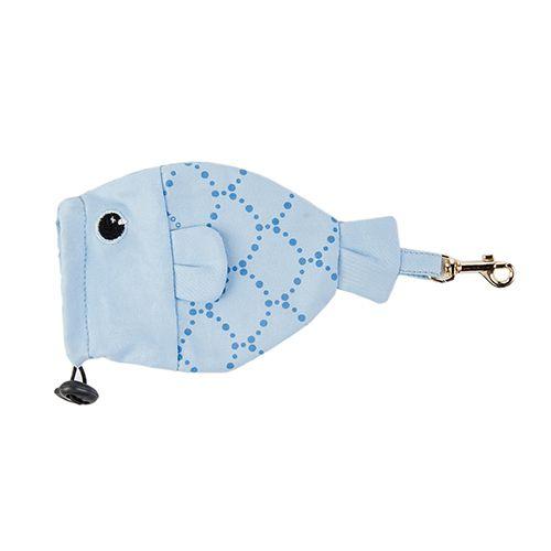 Porta Saquinho Woof Classic - Deep Azul II
