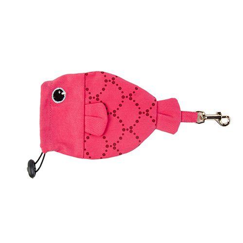 Porta Saquinho Woof Classic - Deep Pink