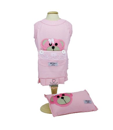 Camisola Para Cachorro DuDog Vest Rosa