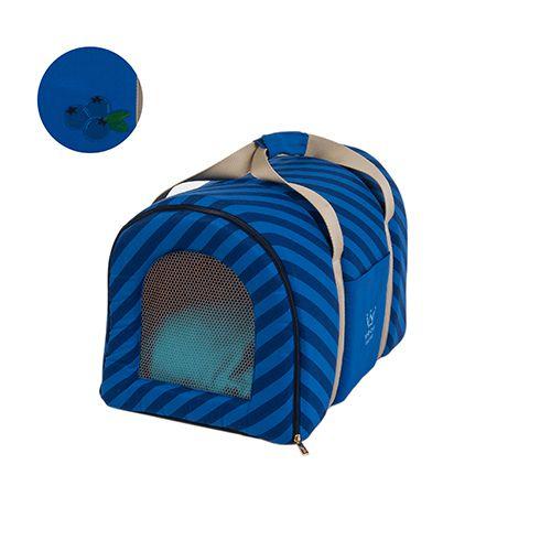 Bolsa Transporte Pet Woof Classic Azul Marinho Blueberry PicNic