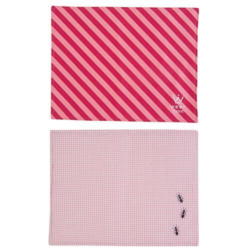 Jogo Americano Woof Classic Pink/Pitaya PicNic