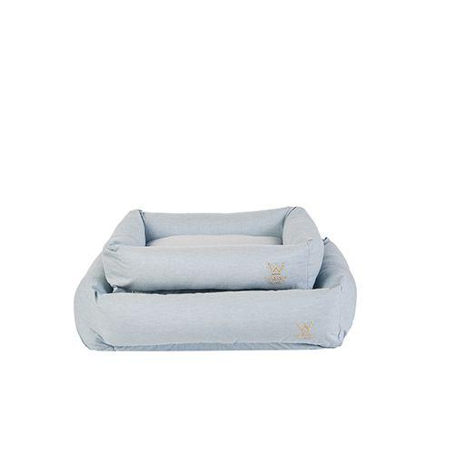 Cama para Cachorro Woof Classic Azul Mescla