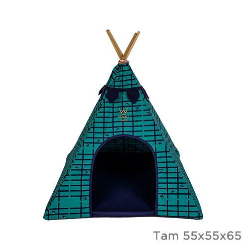 Cabana Apache Woof Classic Marinho/Verde PicNic