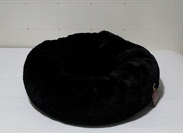 Cama Donuts Preto Maristela Moda Pet