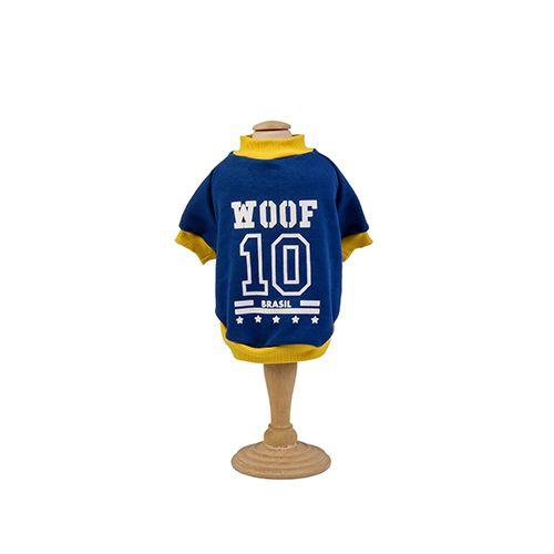 Moletom para cachorro Copa do Mundo Woof Classic Azul
