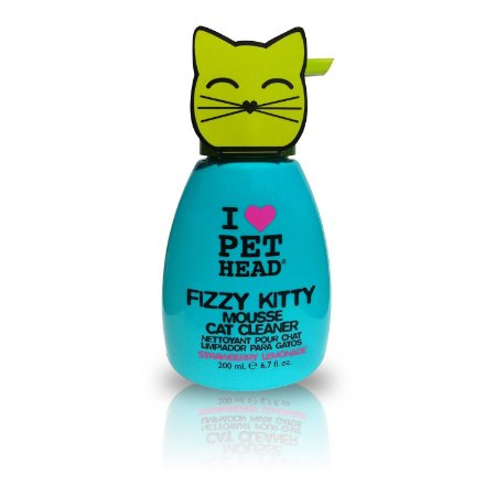 Pet Head Fizzy Kitty Mousse de Limpeza para Gatos
