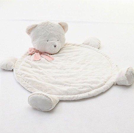 Tapete Urso para Pet Off White