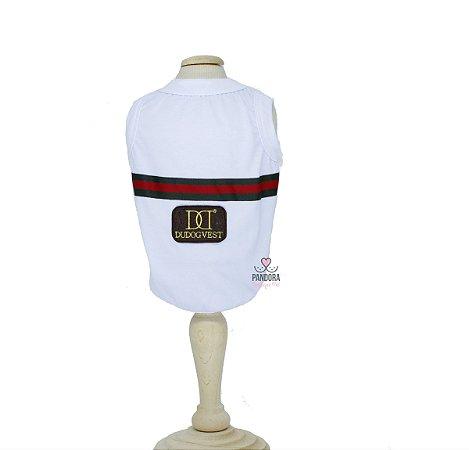 T-shirt para Cachorro DuDog Vest Gucci Inspired