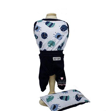 Pijama para Cachorro DuDog Vest Monster
