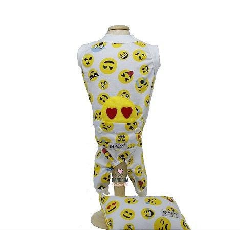 Pijama para Cachorro DuDog Vest Smille