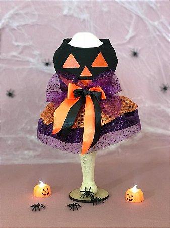 Vestido Halloween para Cachorro Malloo