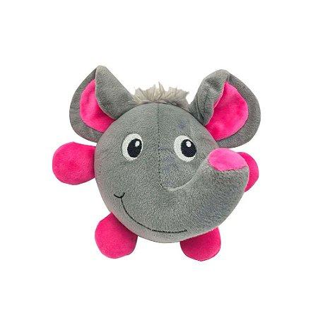 Brinquedo Akio Pelúcia com Squeaker Elefante