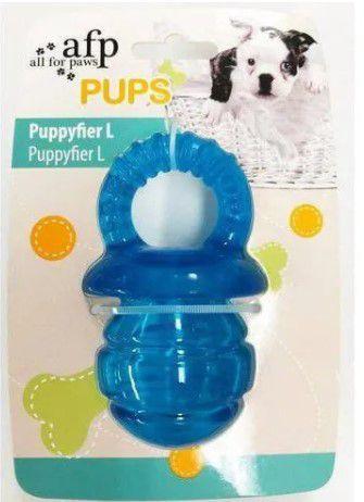 Brinquedo AFP Pups Mordedor Chupeta para Cachorro Azul G