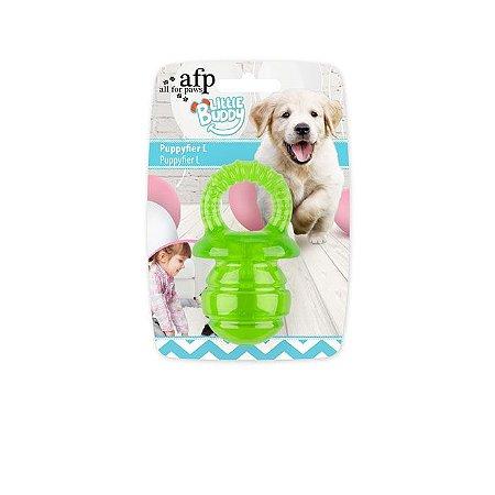 Brinquedo AFP Pups Mordedor Chupeta para Cachorro Amarelo P