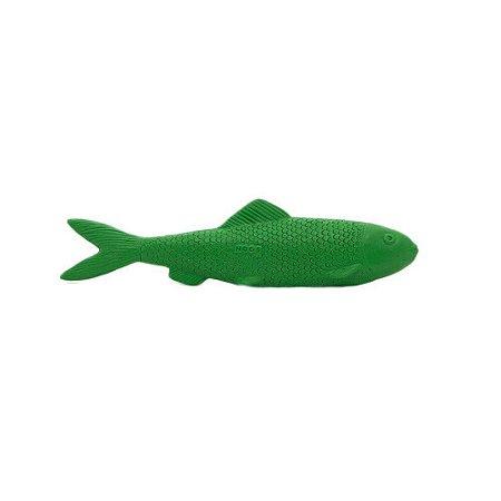 Brinquedo para Cachorro e Gato Nogs Pet Peixe Lep Lep Verde