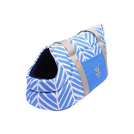 Bolsa de Passeio para Cachorro Woof Classic LLama Azul