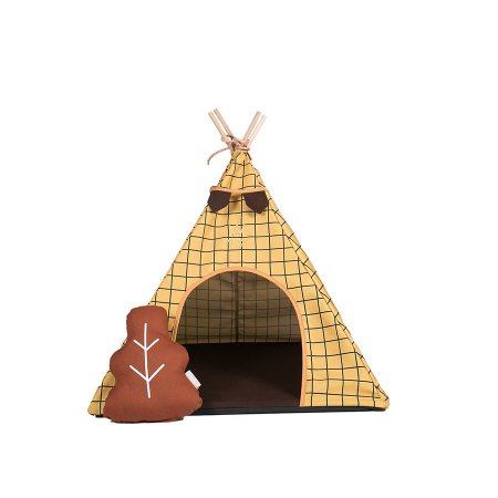 Cabana para Cachorro Woof Classic Apache Forest Ocre