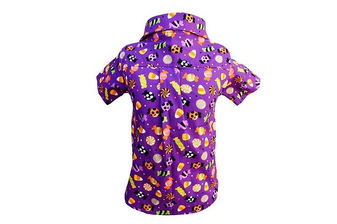 Camisa para Cachorro Halloween