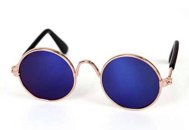 Óculos de Sol para Cachorro e Gato - Azul