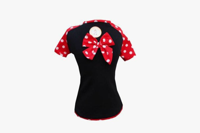 Camiseta UV Para Cachorro Minnie