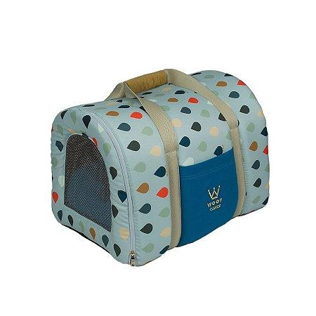 Bolsa de Transporte Pet Woof Classic Sweet Dreams Azul