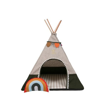 Cabana para Cachorro Woof Classic Apache Sweet Dreams Verde