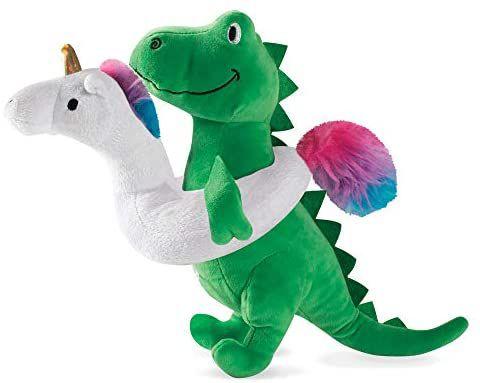 Brinquedo para Cachorro Pelúcia T-Rex Summer Time