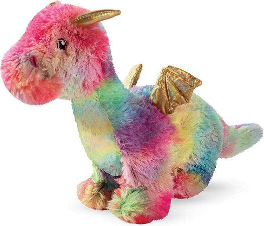 Brinquedo para Cachorro Pelúcia Dragon Amber The Rainbow
